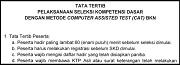 Tata Tertib Seleksi Kompetensi Dasar CPNS Kemenristekdikti 2017