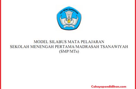 Silabus SMP MTS Lengkap Semua Mata Pelajaran Kurikulum 2013 Revisi
