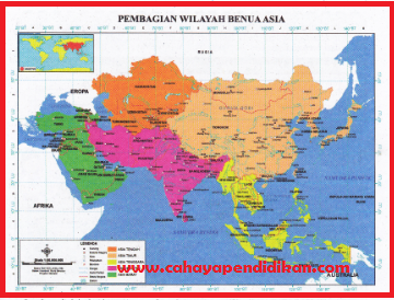 Dinamika Penduduk Asia Amerika-Materi IPS Kelas 9