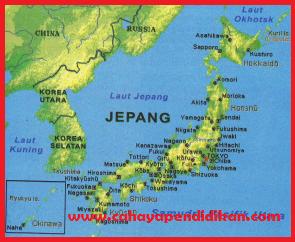 Kondisi Alam Negara Jepang