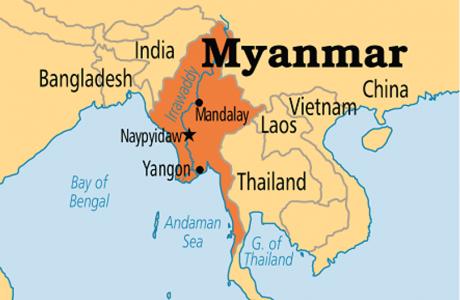 Keadaan Alam Myanmar