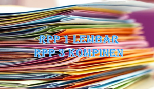 RPP 1 Lembar 3 Komponen SMP MTS Lengkap