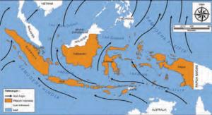 Pengertian Angin Muson, dan Pengaruhnya terhadap Musim di Indonesia