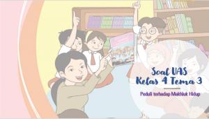 Soal UAS Kelas 4 tema-3 Peduli Terhadap Makhluk Hidup