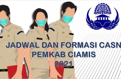 Jadwal dan Formasi CPNS-PPPK Pemkab Ciamis 2021