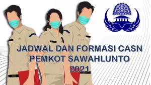 Jadwal dan Formasi CPNS-PPPK Pemkot Sawahlunto 2021