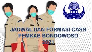 Jadwal dan Formasi CPNS-PPPK Pemkab Bondowoso 2021
