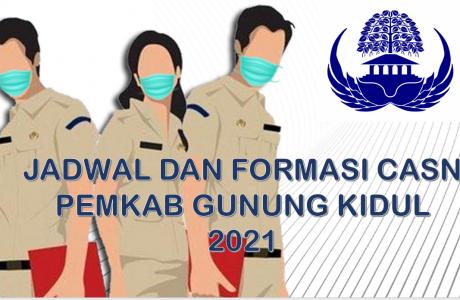 Jadwal dan Formasi CPNS-PPPK Pemkab Gunung Kidul 2021