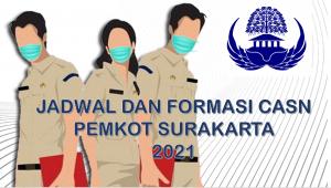 Jadwal dan Formasi CPNS-PPPK Pemkot Surakarta 2021