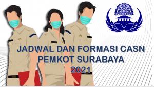 Jadwal dan Formasi CPNS-PPPK Pemkot Surabaya 2021