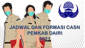 Jadwal dan Formasi CPNS-PPPK Pemkab Dairi 2021