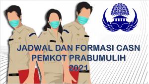 Jadwal dan Formasi CPNS-PPPK Pemkot Prabumulih 2021