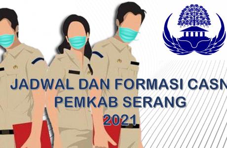 Jadwal dan Formasi CPNS-PPPK Pemkab Serang 2021