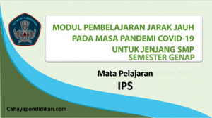 Modul BDR PJJ IPS SMP Semester 2 Pada Masa Covid-19