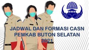 Jadwal dan Formasi CPNS-PPPK Pemkab Buton Selatan 2021