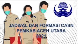 Jadwal dan Formasi CPNS-PPPK Pemkab Aceh Utara 2021