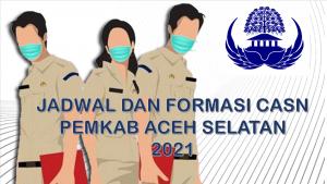 Jadwal dan Formasi CPNS-PPPK Pemkab Aceh Selatan 2021