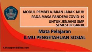 Modul PJJ IPS SMP Semester 1 Pada Masa Covid-19