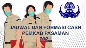 Jadwal dan Formasi CPNS-PPPK Pemkab Pasaman 2021