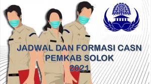 Jadwal dan Formasi CPNS-PPPK Pemkab Solok 2021