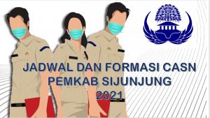 Jadwal dan Formasi CPNS-PPPK Pemkab Sijunjung 2021