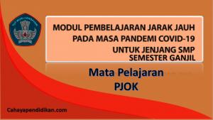 Modul PJJ PJOK SMP Semester 1 Pada Masa Covid-19