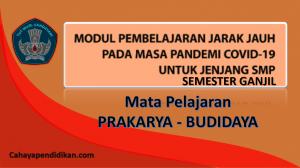 Modul PJJ Prakarya - Budidaya SMP Semester 1 Pada Masa Covid-19